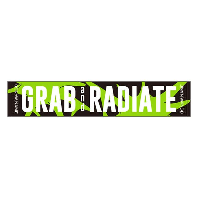 "(K)NoW_NAME 3rd Live ""GRAB and RADIATE"" マフラータオル"