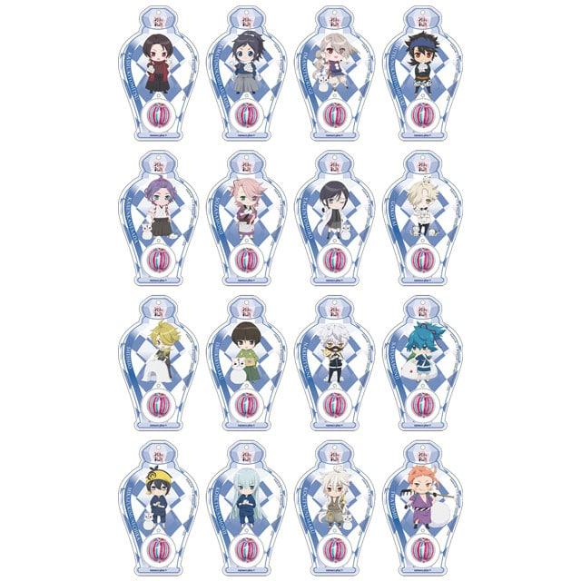 続『刀剣乱舞-花丸-』 ナナコプラス × 四季コレクション-冬- トレーディング飴玉キーホルダー ランダム1個