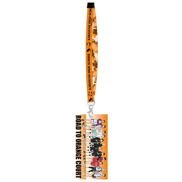 ハイキュー!! 「全国大会への道」 ネックストラップ付チケットホルダー(烏野)