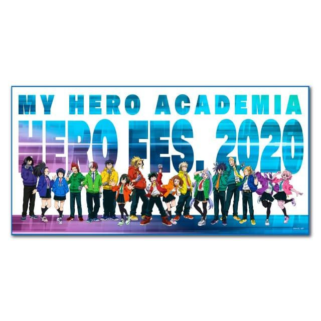 僕のヒーローアカデミア 「HERO FES.<ヒーローフェス>2020」 布ポスター