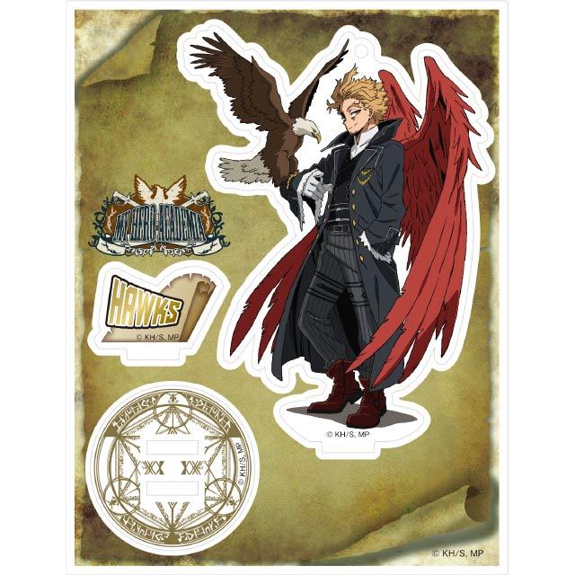 僕のヒーローアカデミア アクリルスタンドキーホルダー 十傑コスチューム ホークス
