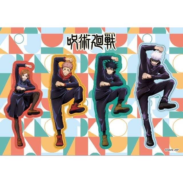 呪術廻戦 ダイカットステッカー AnimeJapan 2021 Ver.