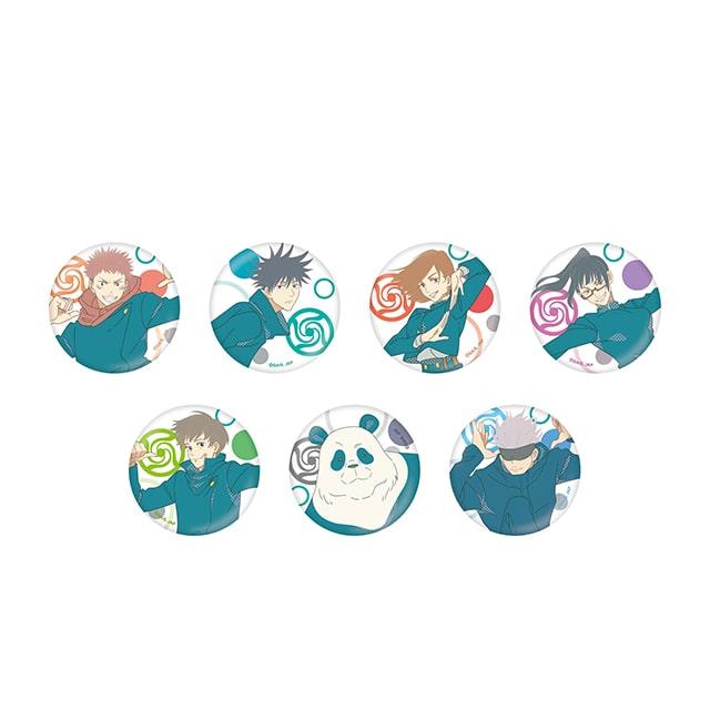 呪術廻戦 じゅじゅフェス 2021 トレーディング缶バッジ【全7種】コンプリートセット